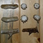 Deer and elk antler drawer pulls and knobs image