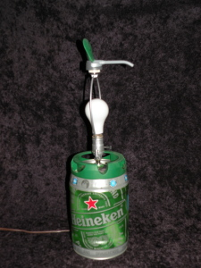 Heineken Keg Lamp